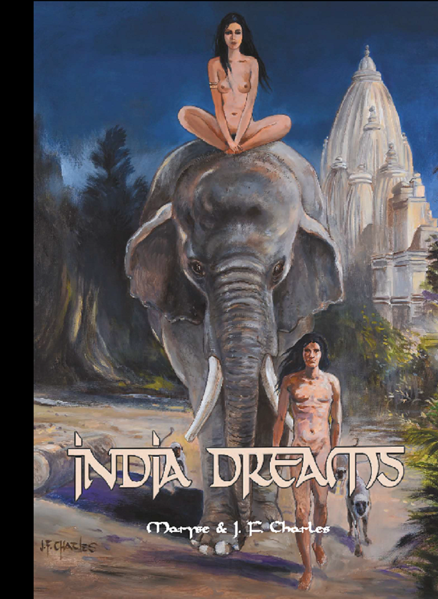 Couverture du tirage de tete INDIA DREAMS tome 9