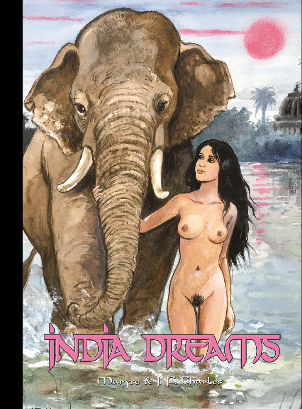Couverture Version Ultra Collector INDIA DREAMS Tome 9