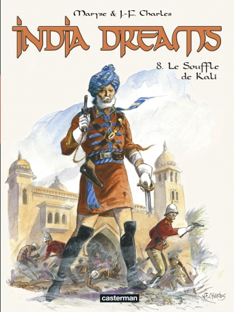 Couverture india dreams tome 8 Casterman