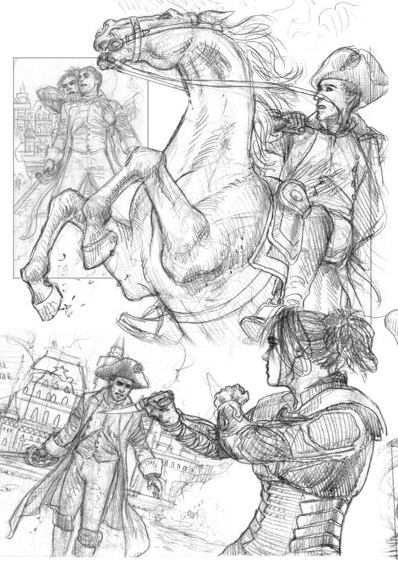 Les Chevaliers d'Héliopolis Rubedo Croquis 04