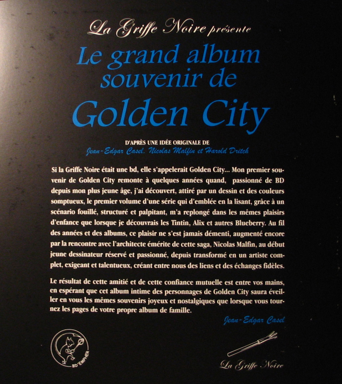 Présentation du Grand Album de Golden City