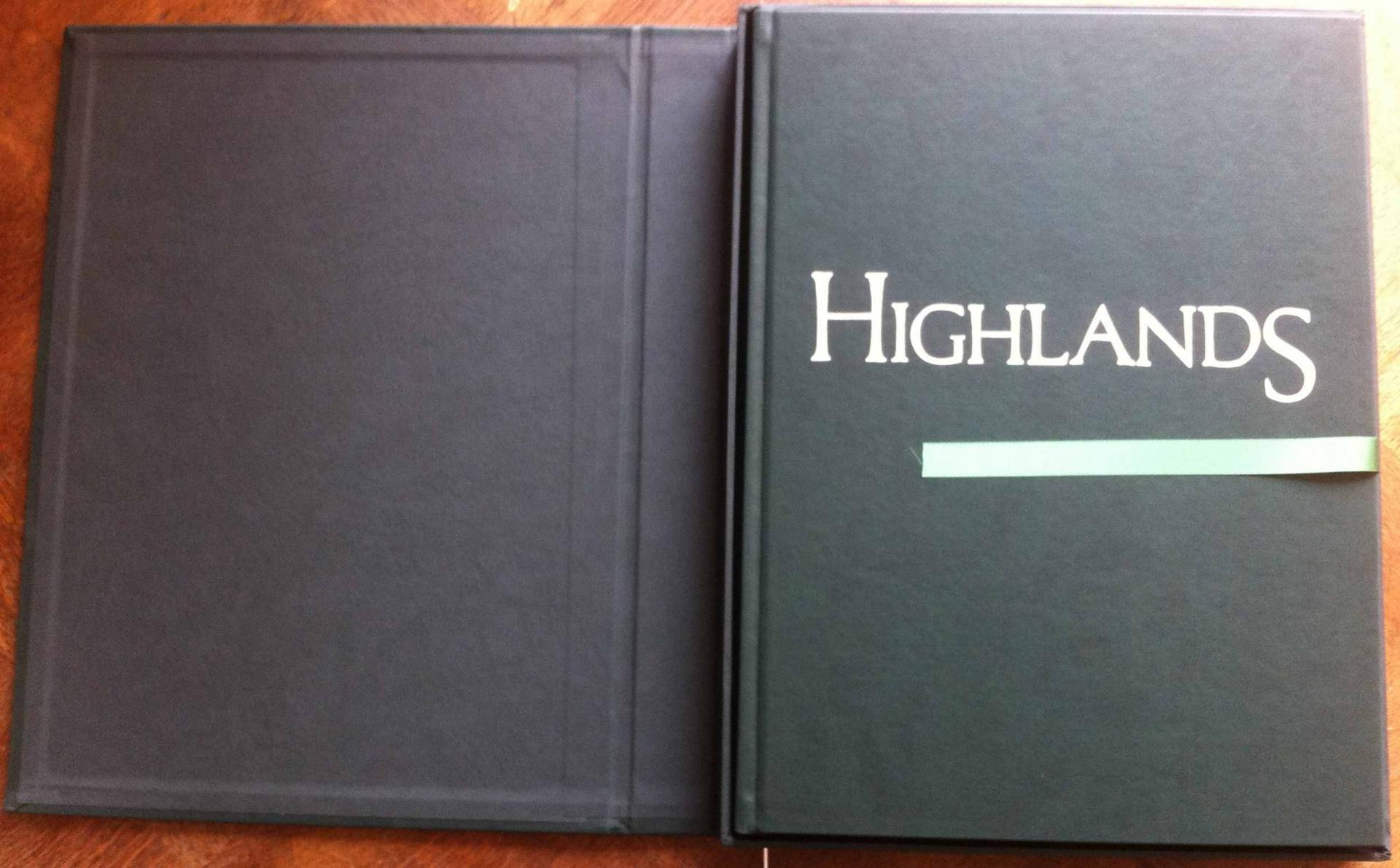 Highlands coffret de luxe avec tirage de tete