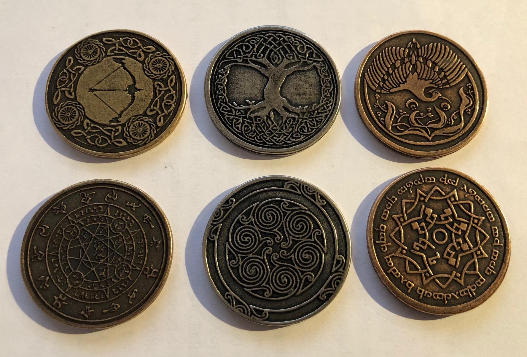 les différentes pièces Elfiques