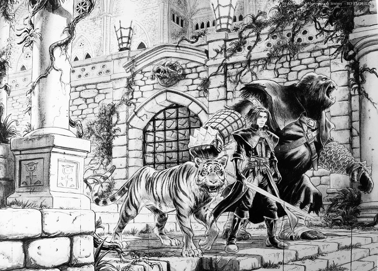 Les Chevaliers d'Héliopolis carnet de croquis