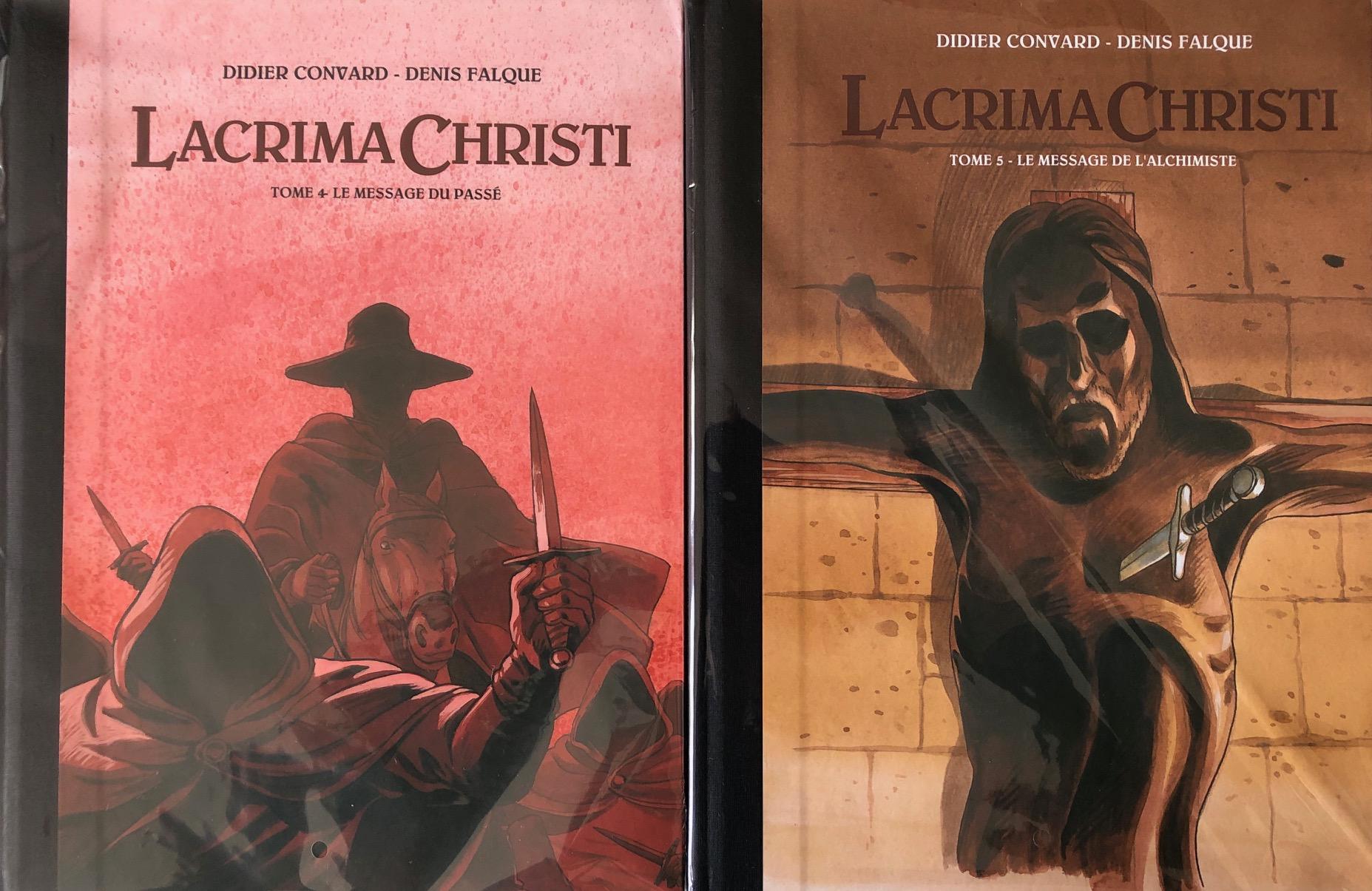 LACRIMA CHRISTI TIRAGE LUXE TOMES 4 ET 5