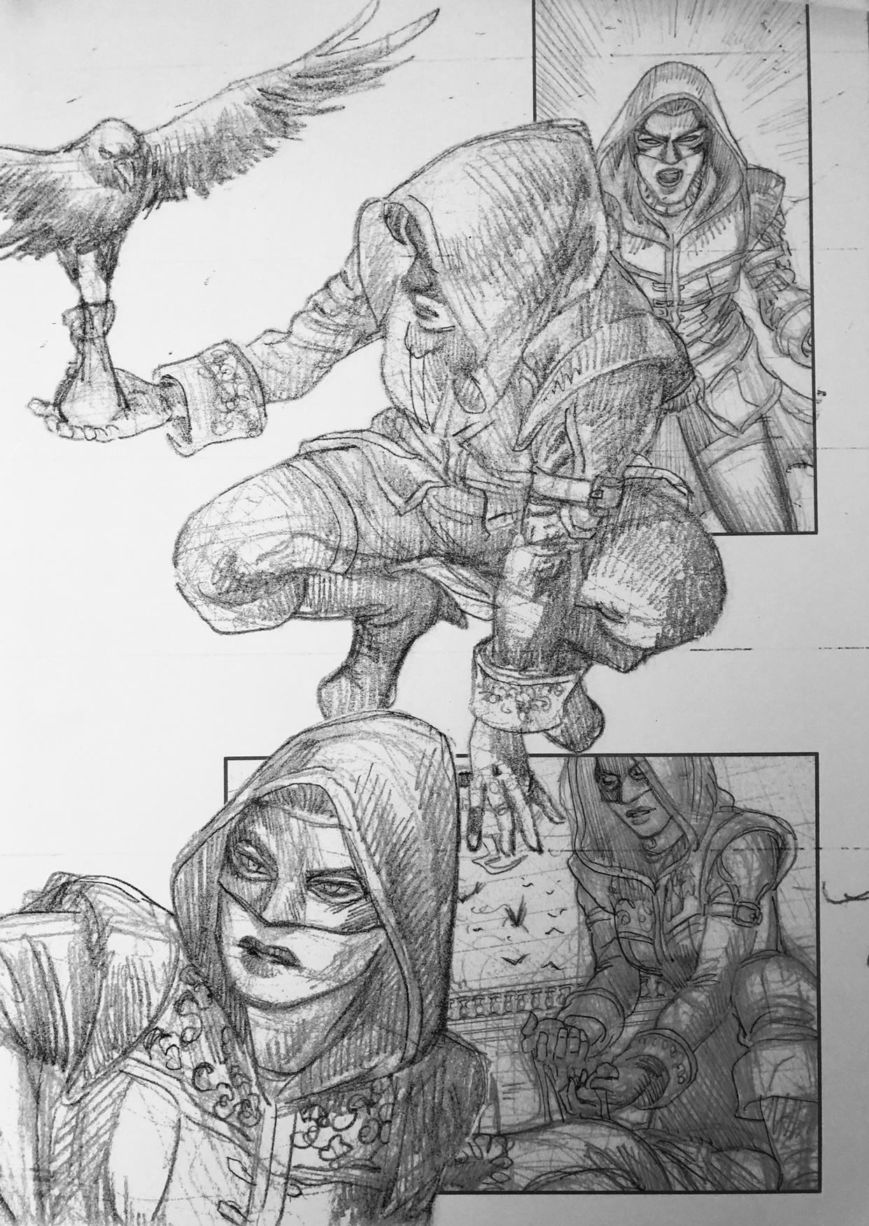 Les chevaliers d heliopolis carnet de croquis 10