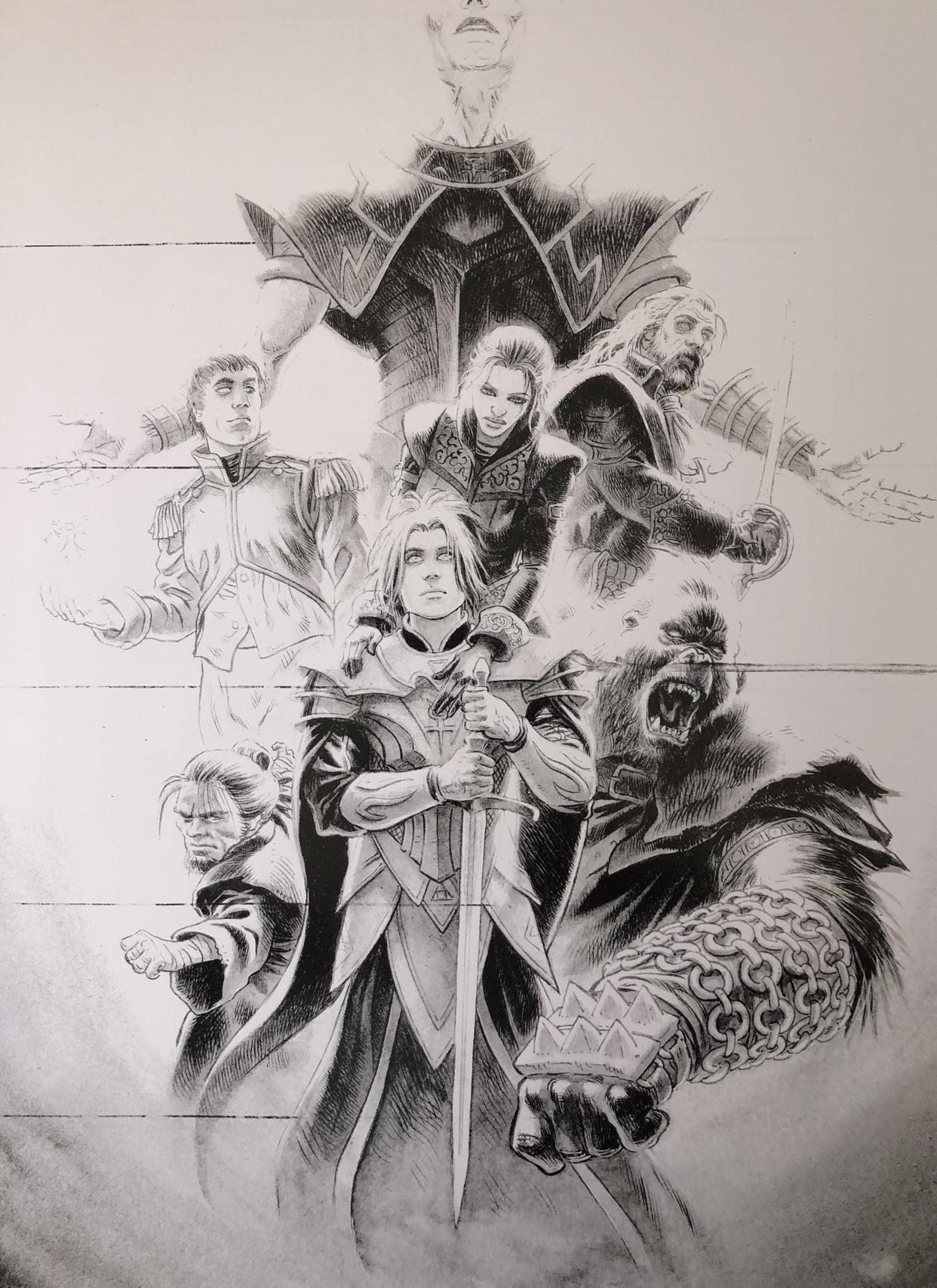 Les chevaliers d heliopolis carnet de croquis 26