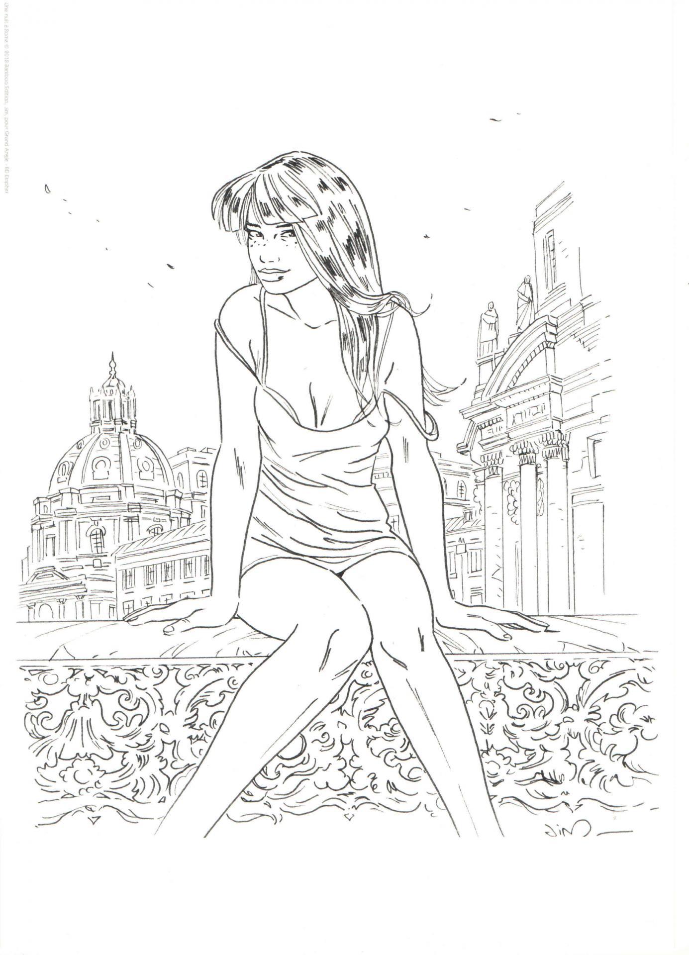 Une Nuit à Rome TT3 exlibris