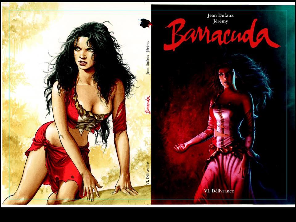 Barracuda couverture du Tirage de Luxe tome 6