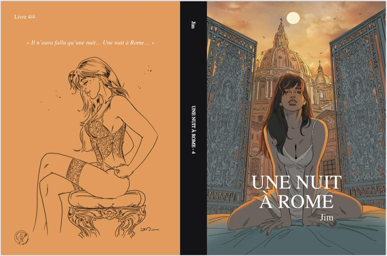 Une nuit a rome tome 4